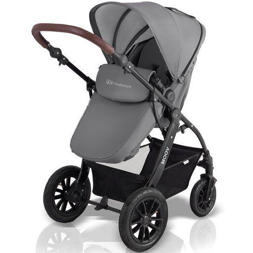 OKAZJA - Kinderkraft Wózek wielofunkcyjny  moov szary + darmowy transport!