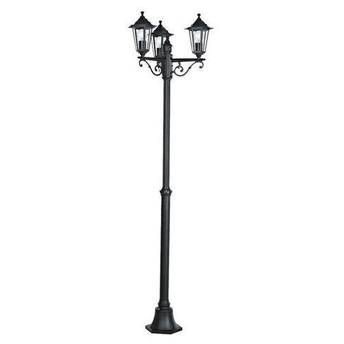LATERNA-Lampa podłogowa zewnętrzna 3-punktowa Aluminium Wys.192cm, 22145