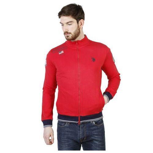 Męska Bluza U.S. Polo 42501_49333 Czerwona, 1 rozmiar