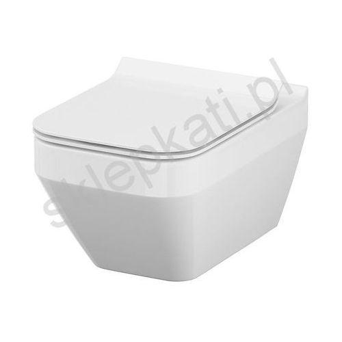 miska wisząca crea clean on prostokątna k114-016 marki Cersanit