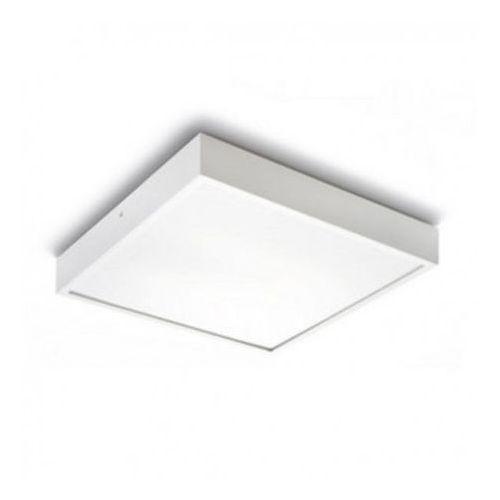 Redlux Lampa sufitowa structural 55x55 biała, r10256