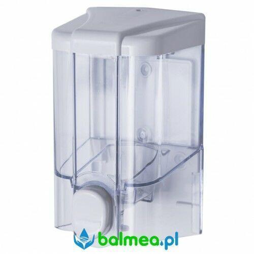 Dozownik mydła w płynie 0,5l FANECO JET, S500PGWT