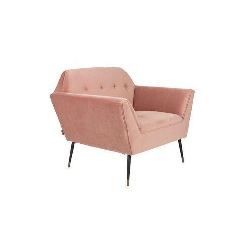 Dutchbone Fotel lounge KATE różowy 3100061, 3100061