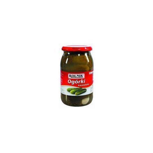 Ogórki kwaszone 900 ml Rolnik (przetwór)