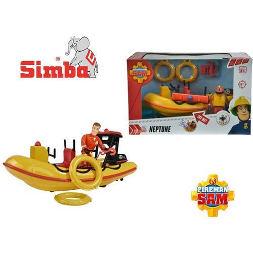 strażak sam łódź ratownicza z figurką marki Simba