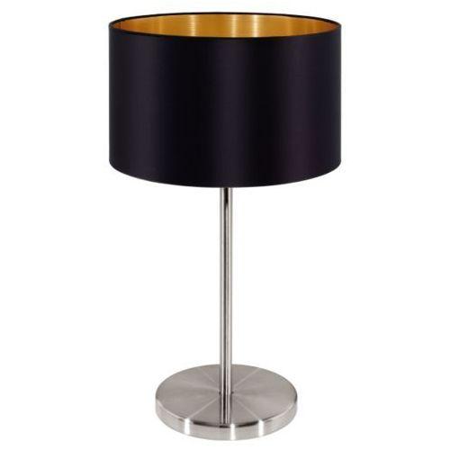 Eglo Lampa stołowa maserlo czarna - 23 cm, 31627