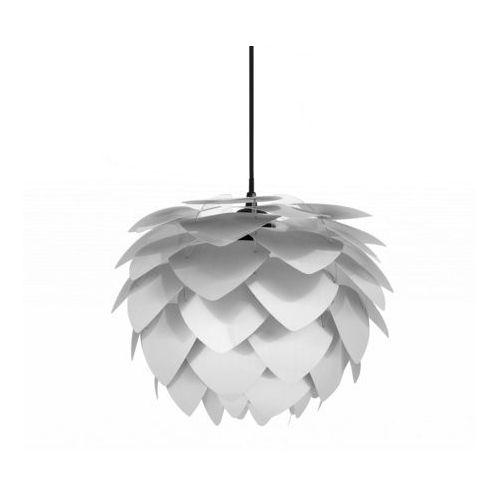 Beliani Lampa sufitowa z oprawą - srebrna - andelle mini (7081457884910)