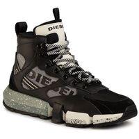 Sneakersy DIESEL - S-Padola Mid Trek Y02113 P2732 H7822 Black/High Rise/Star, kolor czarny