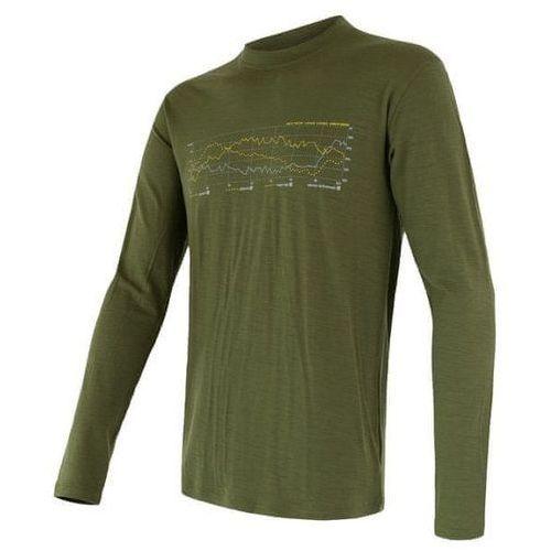 Sensor merino active pt track men's t-shirt long sleeves zielony s 2018-2019 (8592837047201)