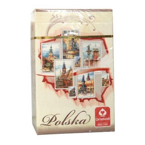 Karty do gry CARTAMUNDI Akwarele Polska 55 listków (5901911001610)