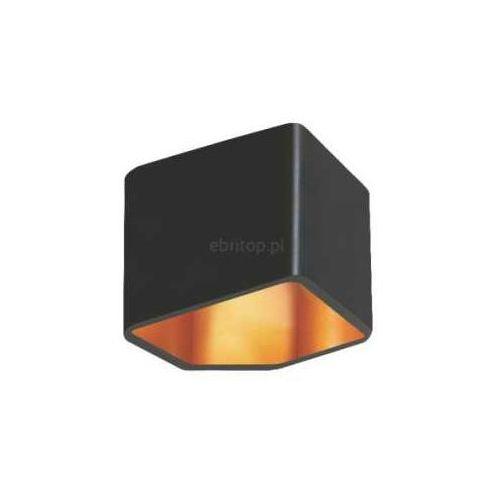 Kinkiet lampa oprawa ścienna Britop Lighting Space 1x5W LED czarny / złoty 1120104 (5901289719957)