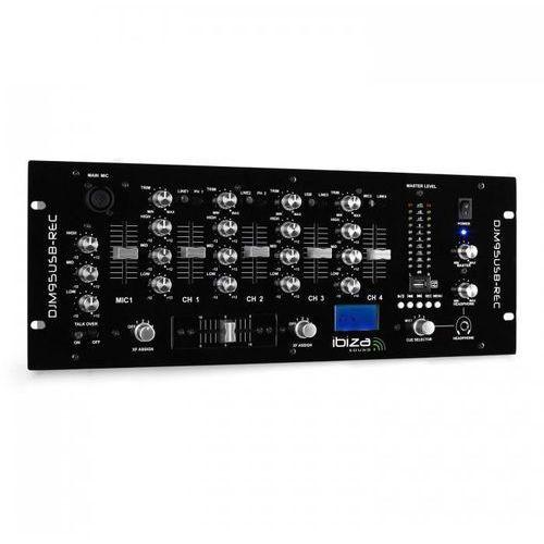 DJM950 mikser USB-REC 4-kanały