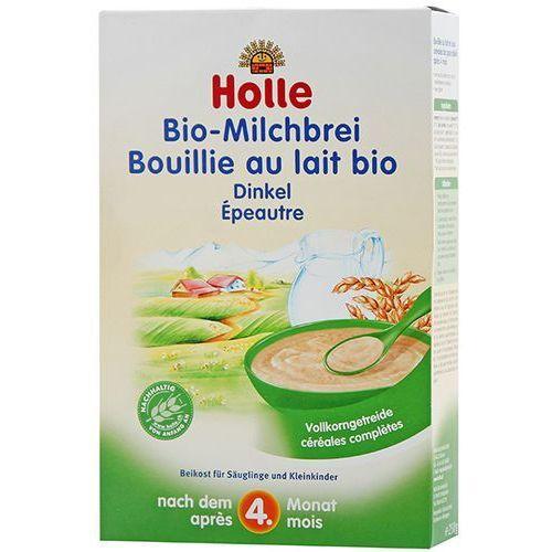 HOLLE 250g Kaszka mleczno-orkiszowa BIO dla niemowląt po 4 miesiącu życia, 7640104950134