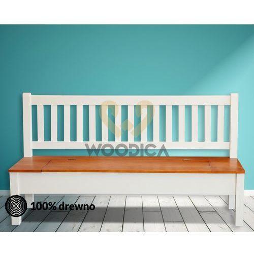 Ławka hacienda 02 [p + schowek] 179x98x56 marki Woodica
