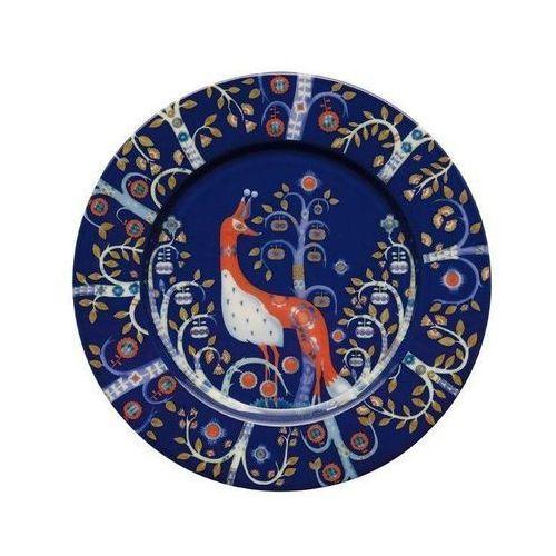 Iittala Talerz płaski 22 cm taika niebieski (7320065004960)