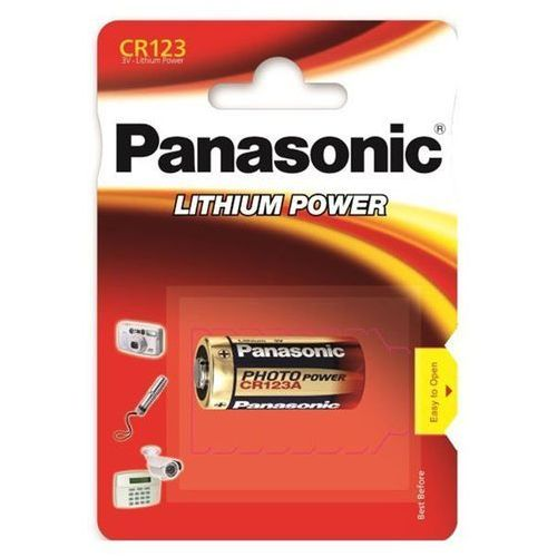 Panasonic Bateria litowa bat-cr123a 3v cr123a (5410853017097)