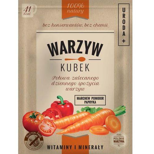Warzyw Kubek Marchew/Pomidor/Papryka - URODA saszetka 16g. - produkt z kategorii- Warzywa i owoce