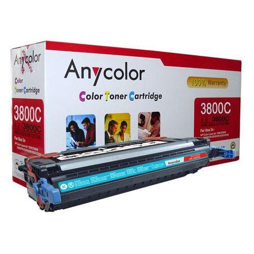Anycolor Toner hp clj 3800 cp3505, canon mf9130 cyan q7581a 6k