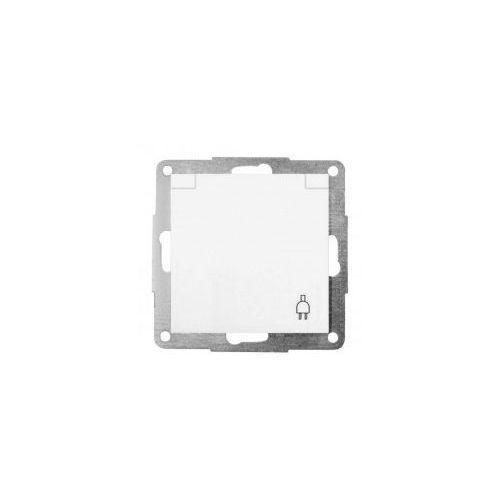 Gniazdo z uziemieniem i osłoną, biały FIORENA (5901241220170)