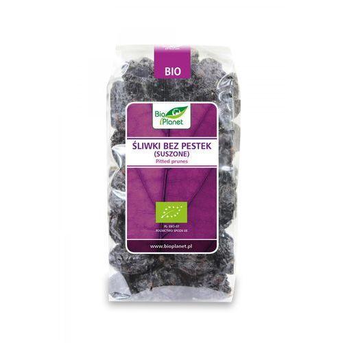 Śliwki bez pestek suszone bio 400 g - marki Bio planet