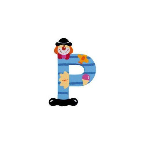 Sevi Drewniana litera P Clown (8003444817526)