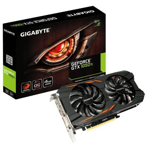 Gigabyte GeForce GTX 1050 Ti WF OC 4GB GDDR5