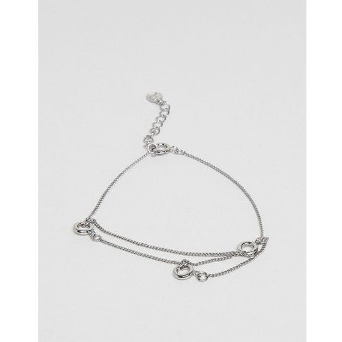 Cheap Monday Lock Bracelet - Silver, kolor szary