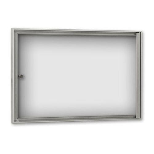 Gablota do zastosowania wewnątrz budynków, głęb. zewn. 27 mm, do DIN A2, ścianka