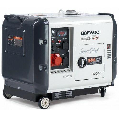 Agregat prądotwórczy ddae 9000sse-3 6,3kw diesel wyciszony marki Daewoo