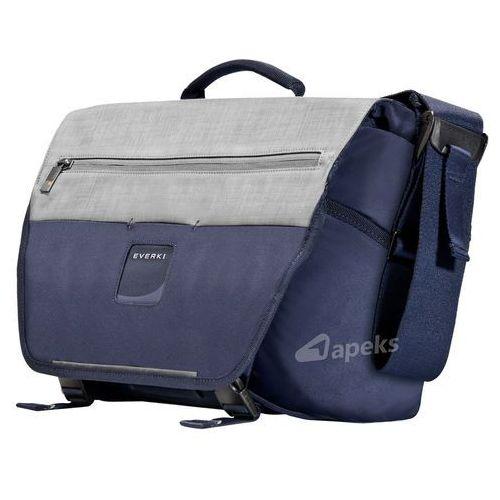 "Everki ContemPRO Bike Messenger torba na ramię / laptop 14,1"" / granatowa - Navy, kolor niebieski"