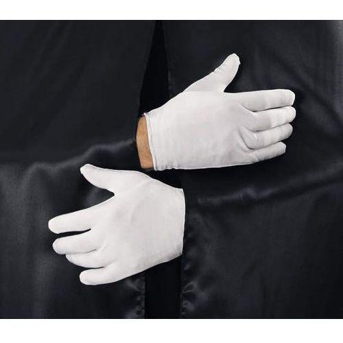 Rękawiczki białe - przebrania , kostiumy dla dzieci odgrywanie ról