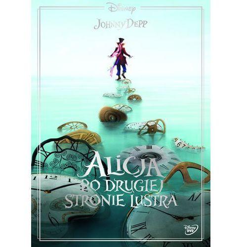 James bobin Alicja po drugiej stronie lustra (dvd) uwierz w magię (płyta dvd)