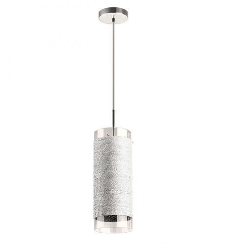 Lampa wisząca rope 1 biała od ręki!, lp-2071/1p biały marki Light prestige