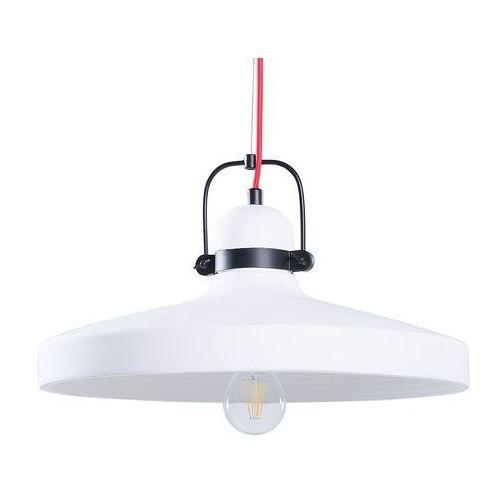 Lampa biała - sufitowa - żyrandol - lampa wisząca - NOATAK, kolor Beżowy,