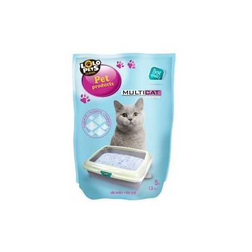 Lolo pets  piasek silikonowy dla kota 5l- rób zakupy i zbieraj punkty payback - darmowa wysyłka od 99 zł