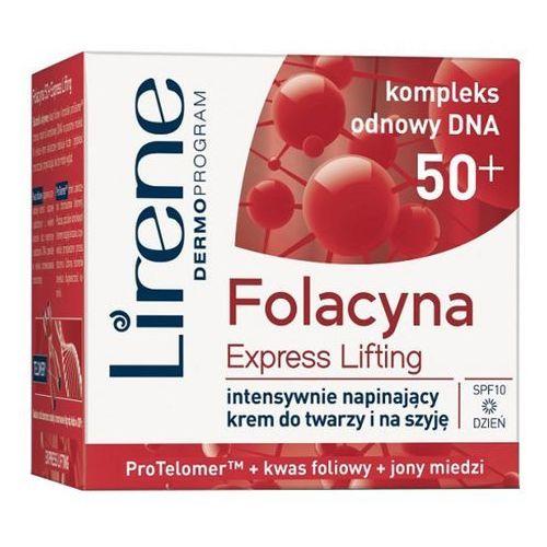 LIRENE 50ml 50+ Folacyna Express Lifting Intensywnie napinający krem na dzień (5900717076037)