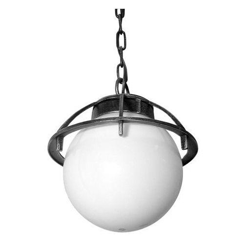 Lampa wisząca zewnętrzna Kula z koszykiem 200 K 1018/1/KPO