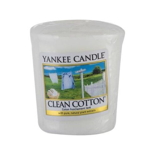 Yankee Candle Sampler Świeca Clean cotton 49g, 5038580000139