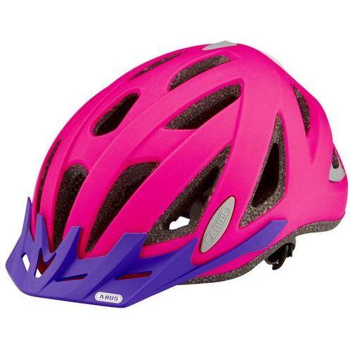 Abus urban-i v. 2 kask rowerowy różowy 52-58 cm 2018 kaski rowerowe (4003318203787)