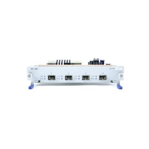 Ns-isg-tx4 netscreen-isg i/o module - 4 port mini gbic-tx (copper transceivers included: gigabit speed only) marki Juniper