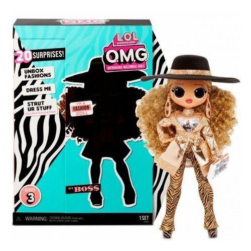 L.O.L. Surprise OMG Doll Series 3- Da Boss Figurka MGA ENTERTAINMENT (0035051567219)