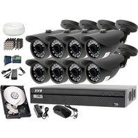 Bcs Zestaw do monitoringu: rejestrator -xvr0801, 8x kamera lv-al20ht, 1tb, akcesoria