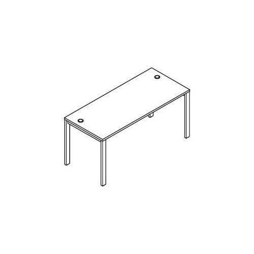 Svenbox Biurko proste bsa76 wymiary: 160x70x75,8 cm