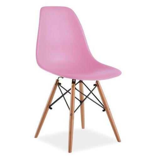 Krzesło enzo różowy marki Signal meble