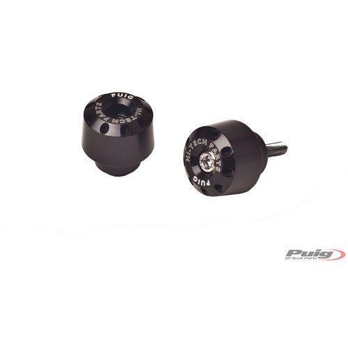 Końcówki kierownicy do Yamaha FZ8 / FZ1 / R6 / R1 (krótkie, czarne)