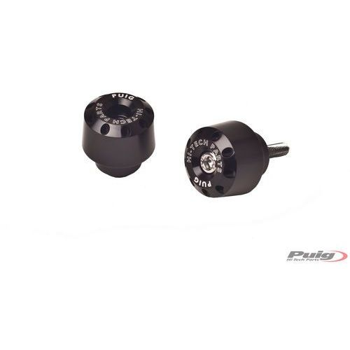 Końcówki kierownicy do Yamaha FZ8 / FZ1 / R6 / R1 (krótkie, czarne) - sprawdź w wybranym sklepie