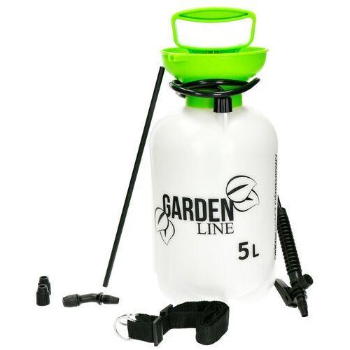 Opryskiwacz ciśnieniowy ręczny. Opryskiwacz ogrodowy do oprysków Garden Line 5l.