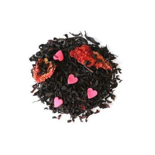 Herbata czarna o smaku truskawkowe serduszko 100g marki Cup&you cup and you