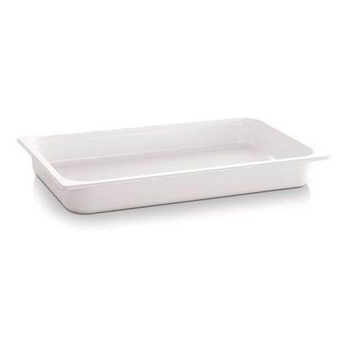 Pojemnik z melaminy gn sztaplowany ecoline biały gn 1/1 aps-84300 marki Aps germany