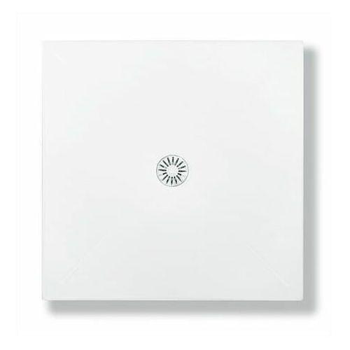 SCHEDPOL DE LUXE Brodzik kwadratowy 90cm, akrylowy 3.040